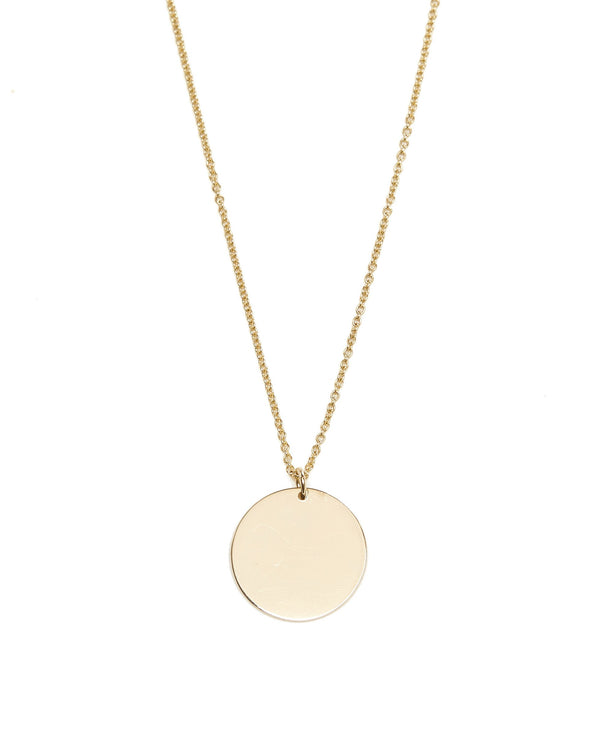 Capri Necklace Medium - 9ct Gold