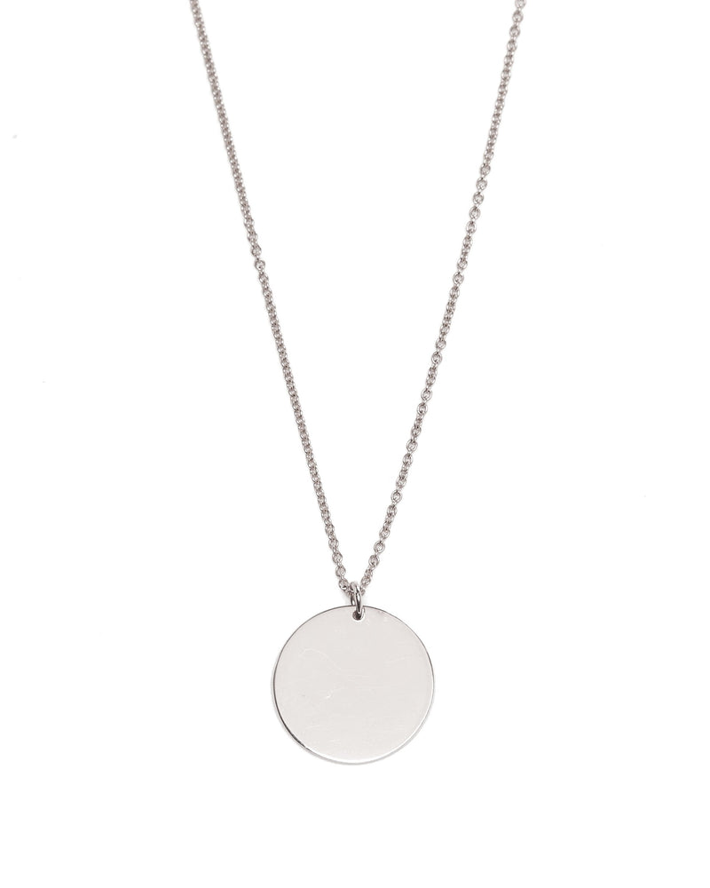 Capri Necklace Medium - Silver