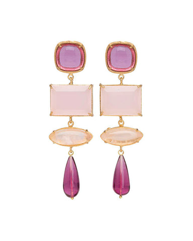 Emiliana Earrings Pink