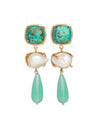 Eva Earrings Turquoise