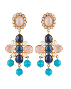 Florencia Earrings Pink