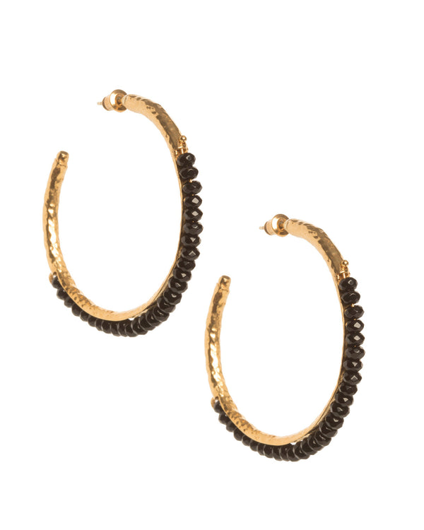 Frida Hoops Black