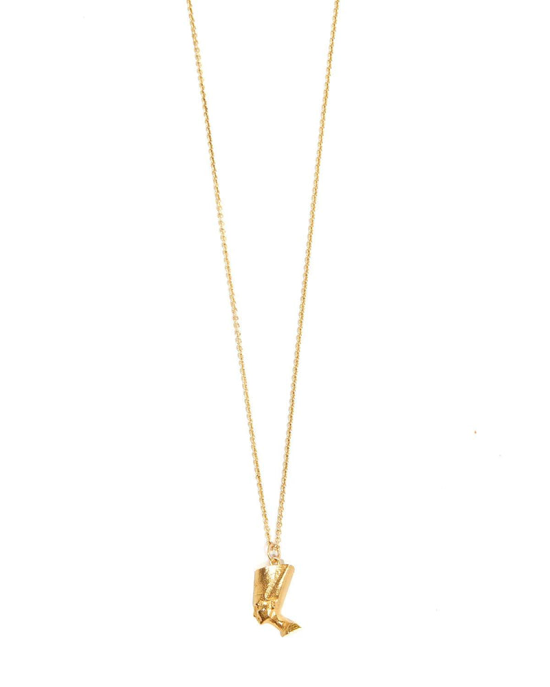Nefertiti Necklace - 9ct Gold