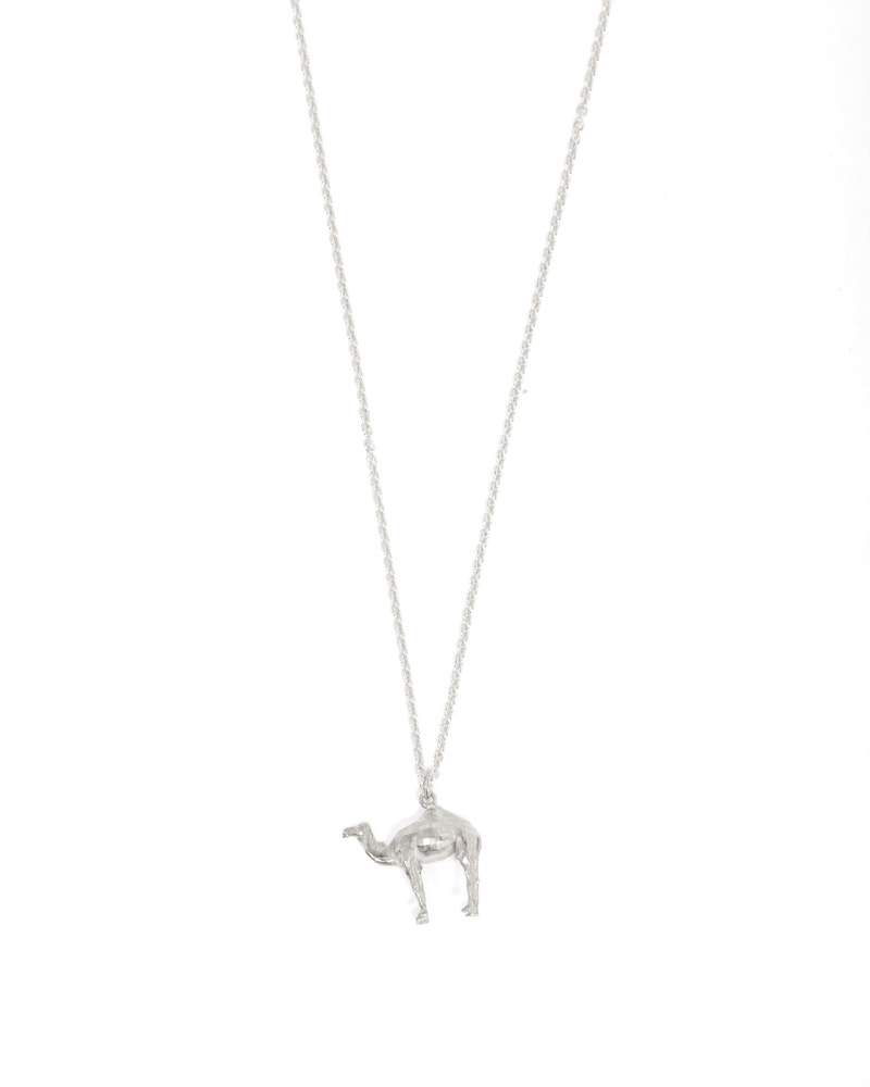 Camel Necklace - Silver