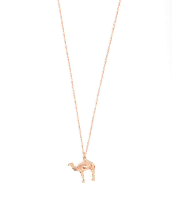 Camel Necklace - 9ct Rose Gold