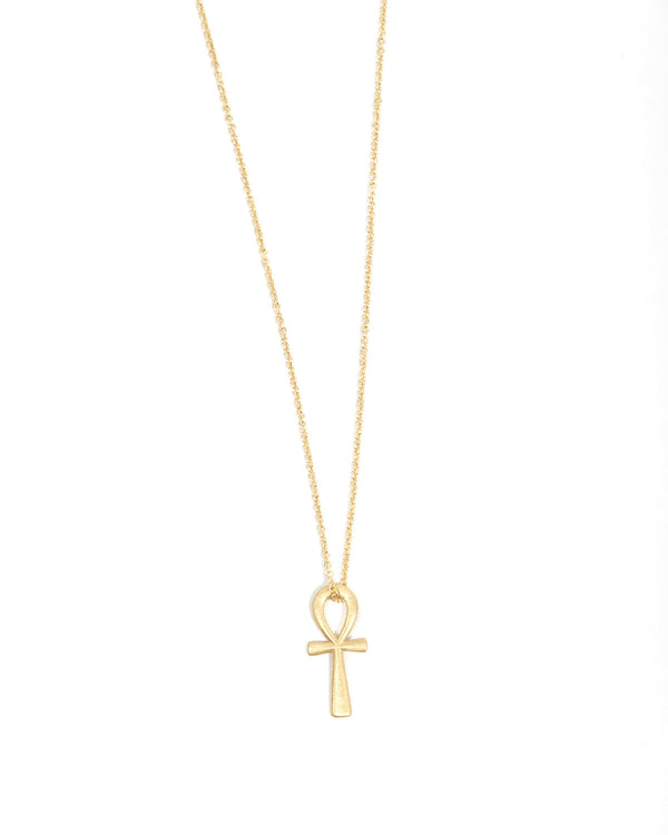 Ankh Necklace - 9ct Gold