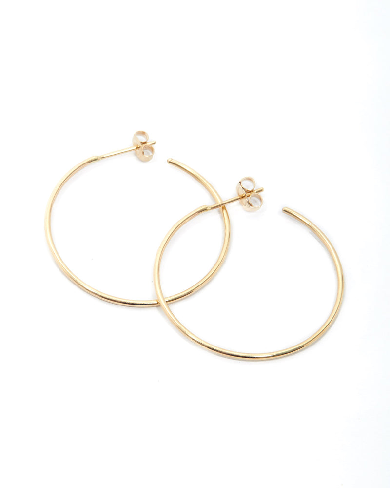 90's Hoops - 9ct Gold