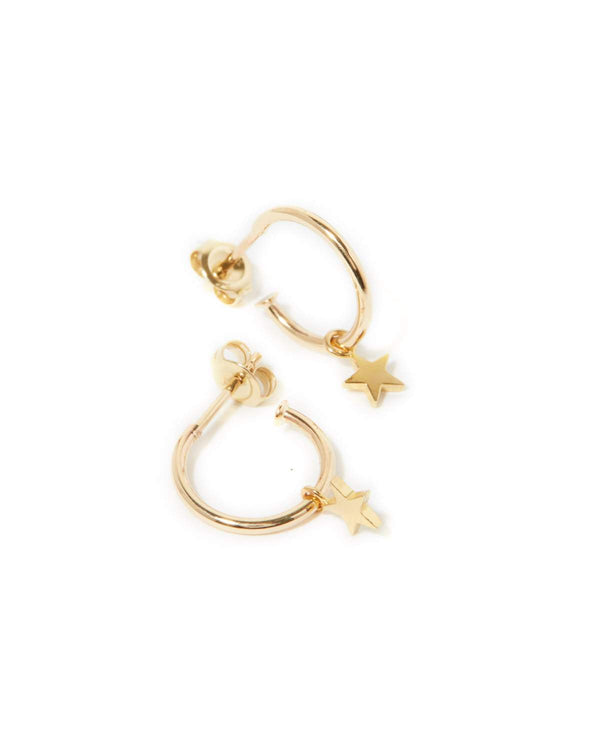 Star Drops - 9ct Gold
