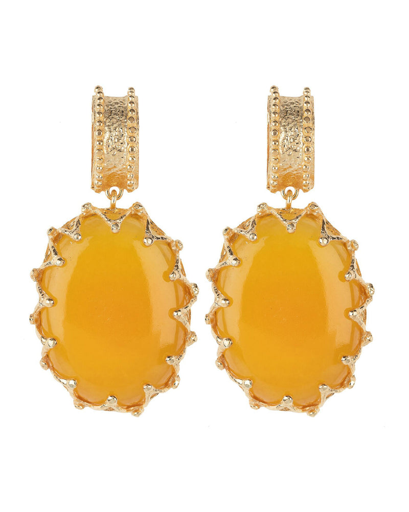 Lola Earrings Yellow