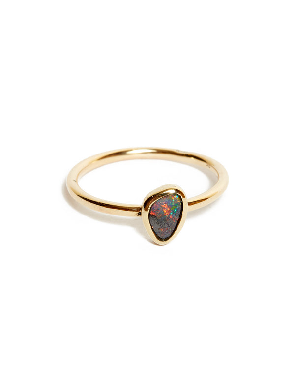 One Of A Kind Australian Opal Ring #1 - 9ct Gold