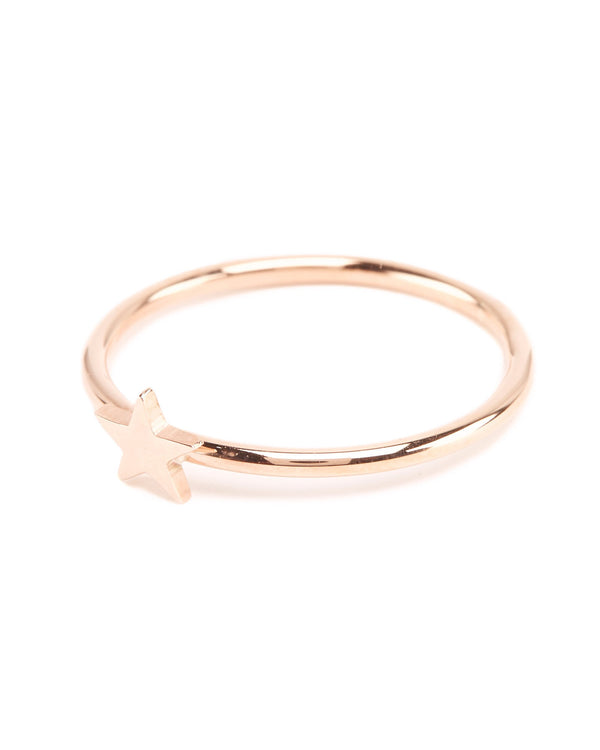 Star Ring - 9ct Rose Gold
