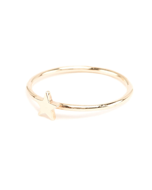 Star Ring - 9ct Gold