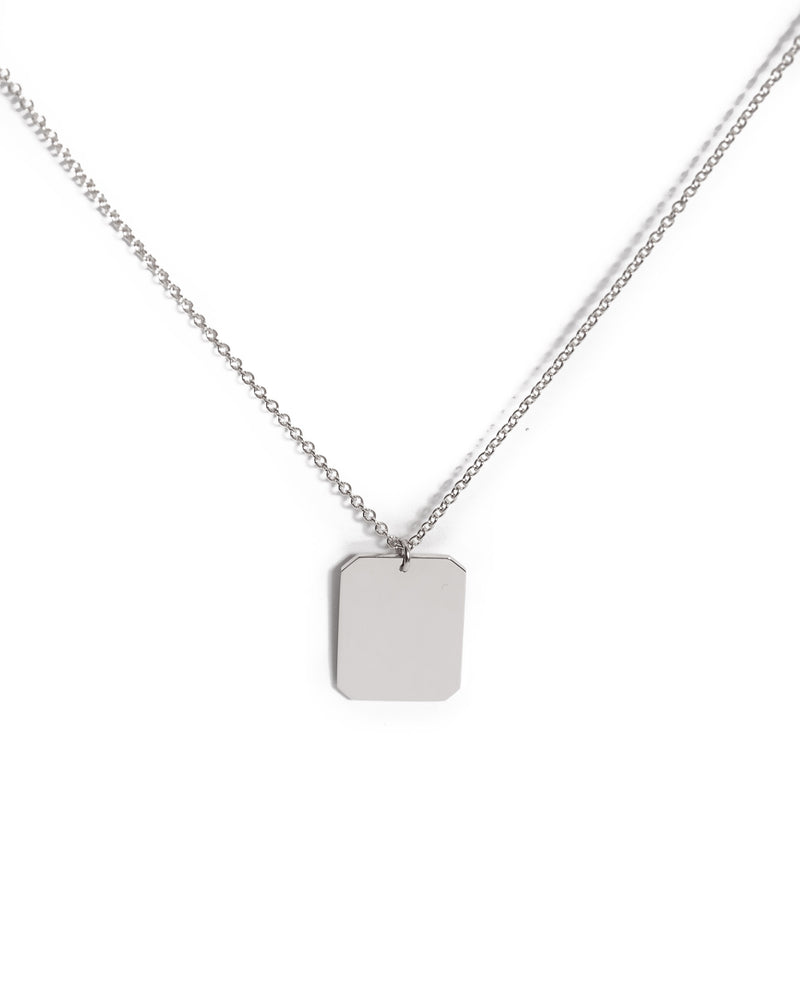 Muse Necklace - Silver