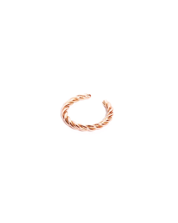 Helix Ear Cuff - 9ct Rose Gold