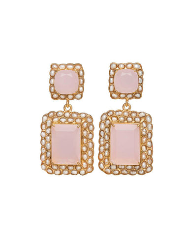 Rosalina Earrings Pale Pink