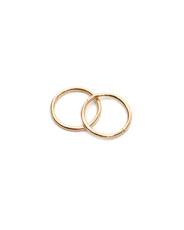 Sleeper Hoops 10mm - 9ct Gold