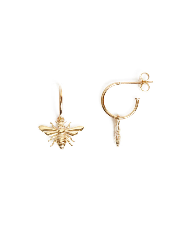 Honey Bee Drop - 9ct Gold