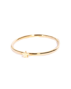 Tiny Star Ring - 9ct Gold