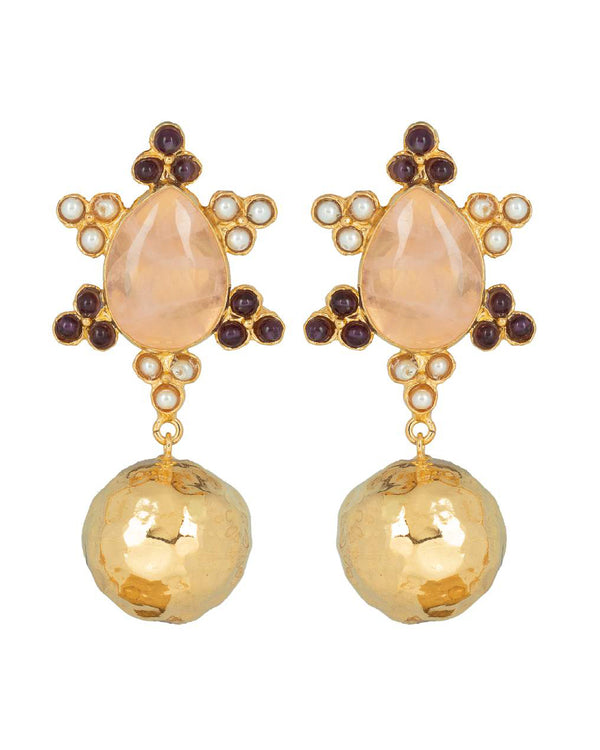Torres Earrings Pink
