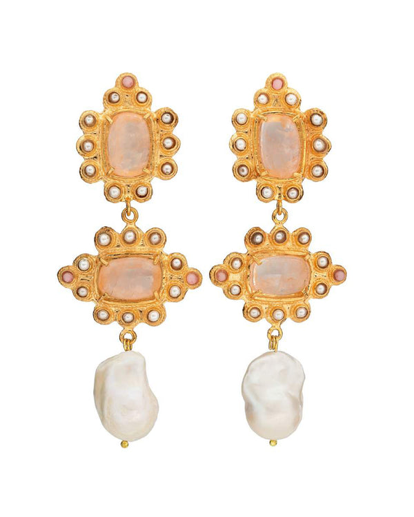 Graciela Earrings Pink