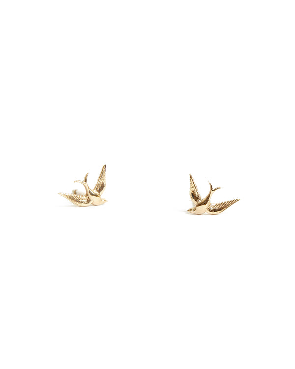 Bluebird Stud - 9ct Gold