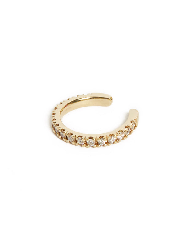 Diamond Ear Cuff - 9ct Gold