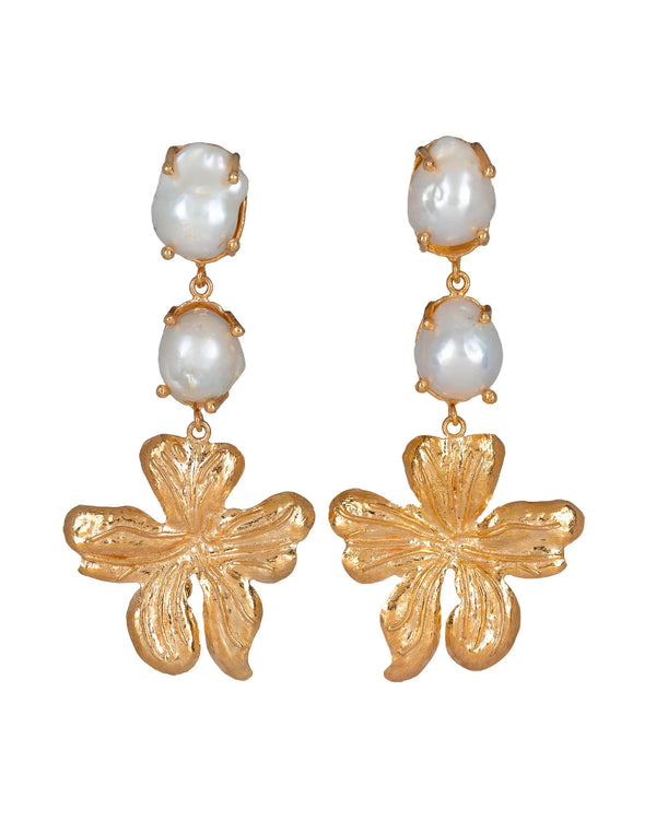Delilah Earrings Gold
