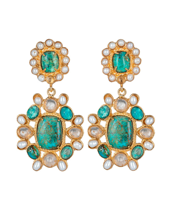 Mirabella Earrings Turquoise