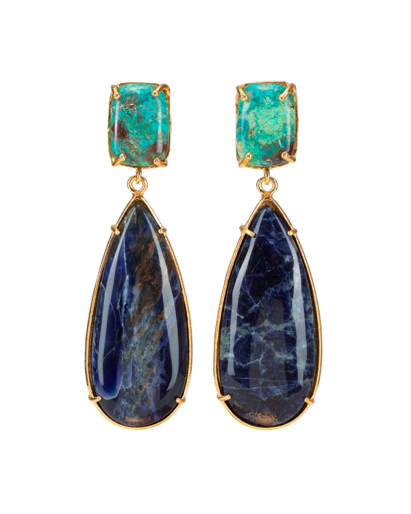 Franca Earrings Blue