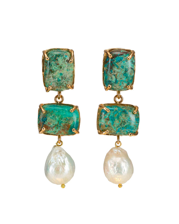 Loren Earrings Turquoise