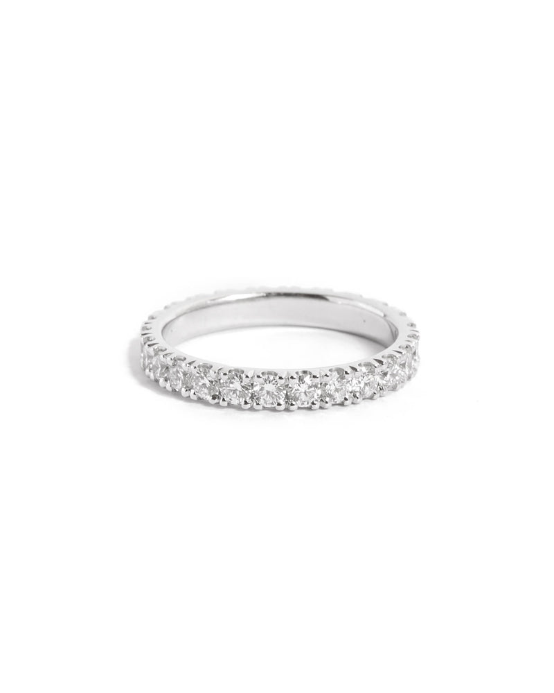 Wisp 5pt Diamond Ring - 14ct  White Gold