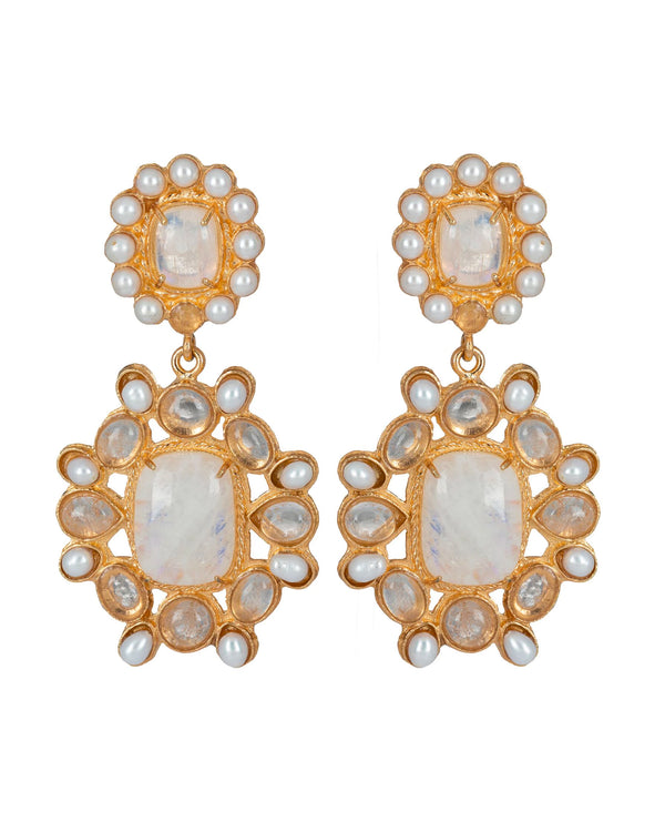 Mirabella Earrings Moonstone