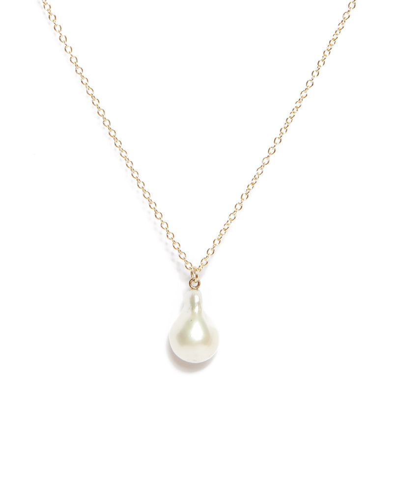 Siren Pearl Necklace - 9ct Gold