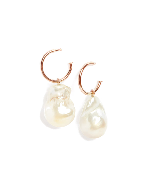 Siren Pearl Drops - Rose Gold
