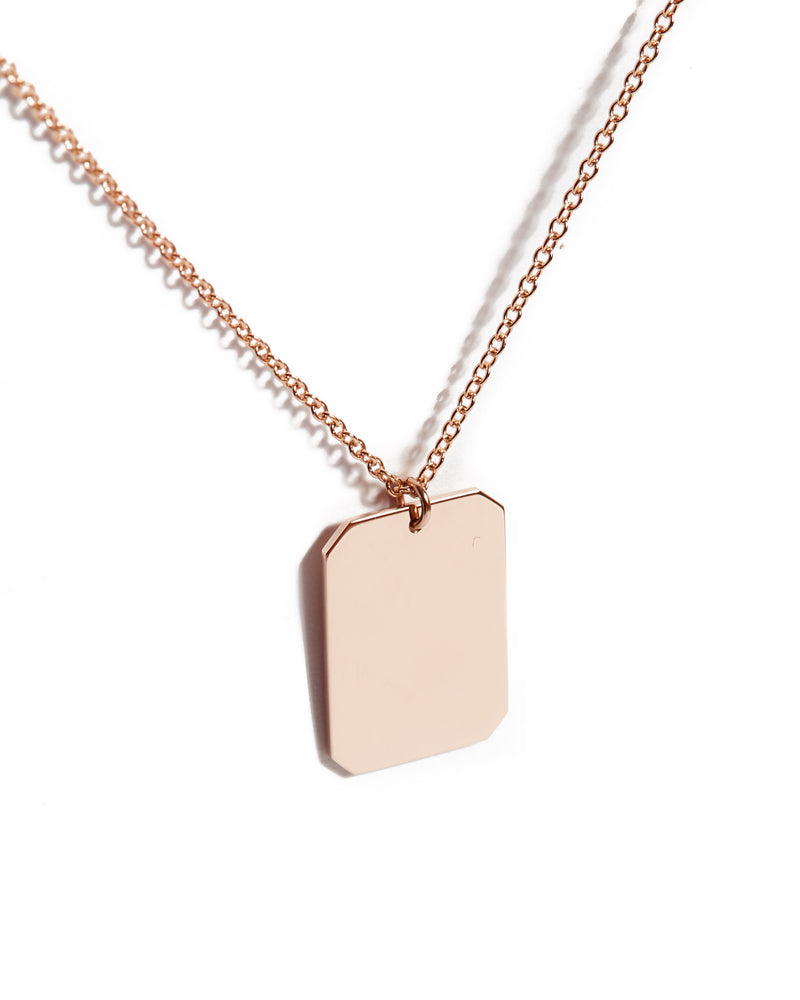 Muse Necklace - 9ct Rose Gold