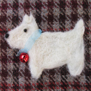 Christmas Card, Scottie Dog