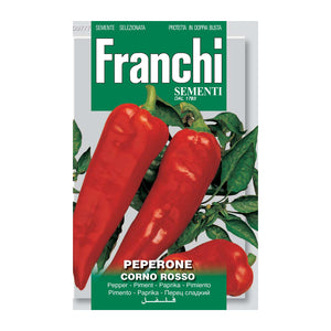 Seeds, Pepper - Peperone corno rosso