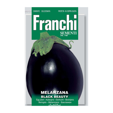 Seeds, Aubergine - Melanzana black beauty