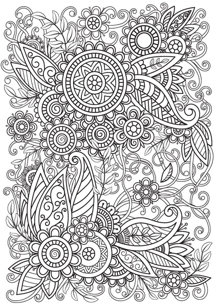 Colouring Book, General Mindful Illustrations