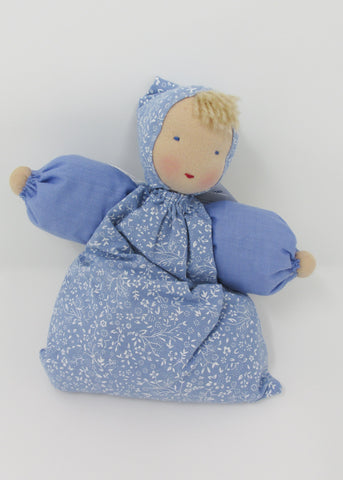 Waldorf Babette Doll, Pale Sky Blue Fabric