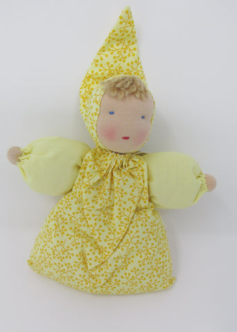 Waldorf Babette Doll, Sunshine Yellow