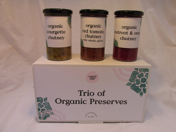 Hamper, Savoury Trio of Preserves,