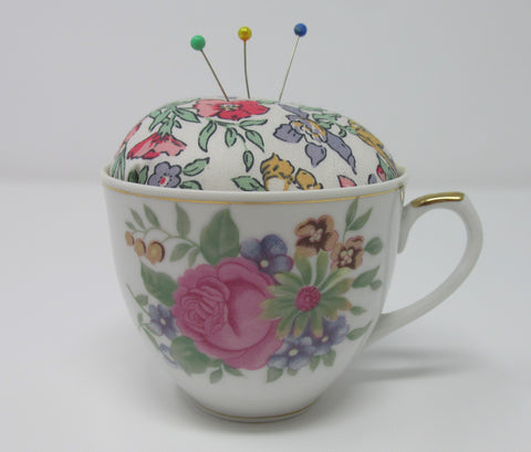 Pin Cushion, Tea-Cup