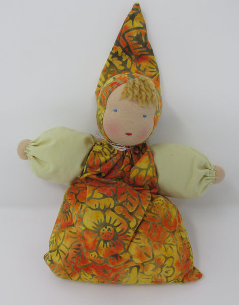 Waldorf Babette Doll, Sunshine Fabric