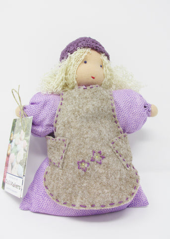 Waldorf Annice Rose Doll, Lavender