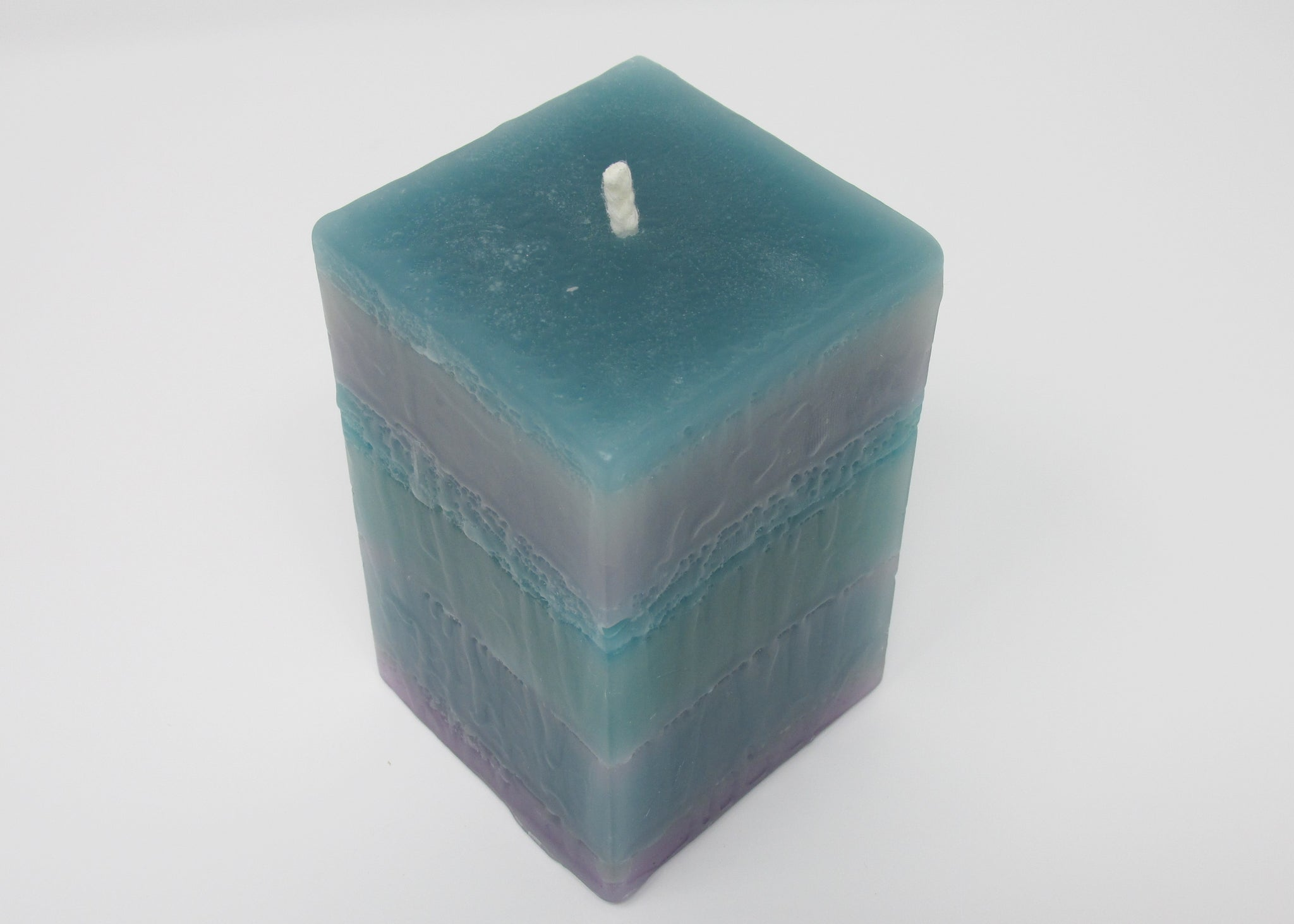 Candle, Sea Green Square