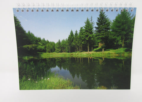Notepad, Lake Taylor with Blank Recycled Paper