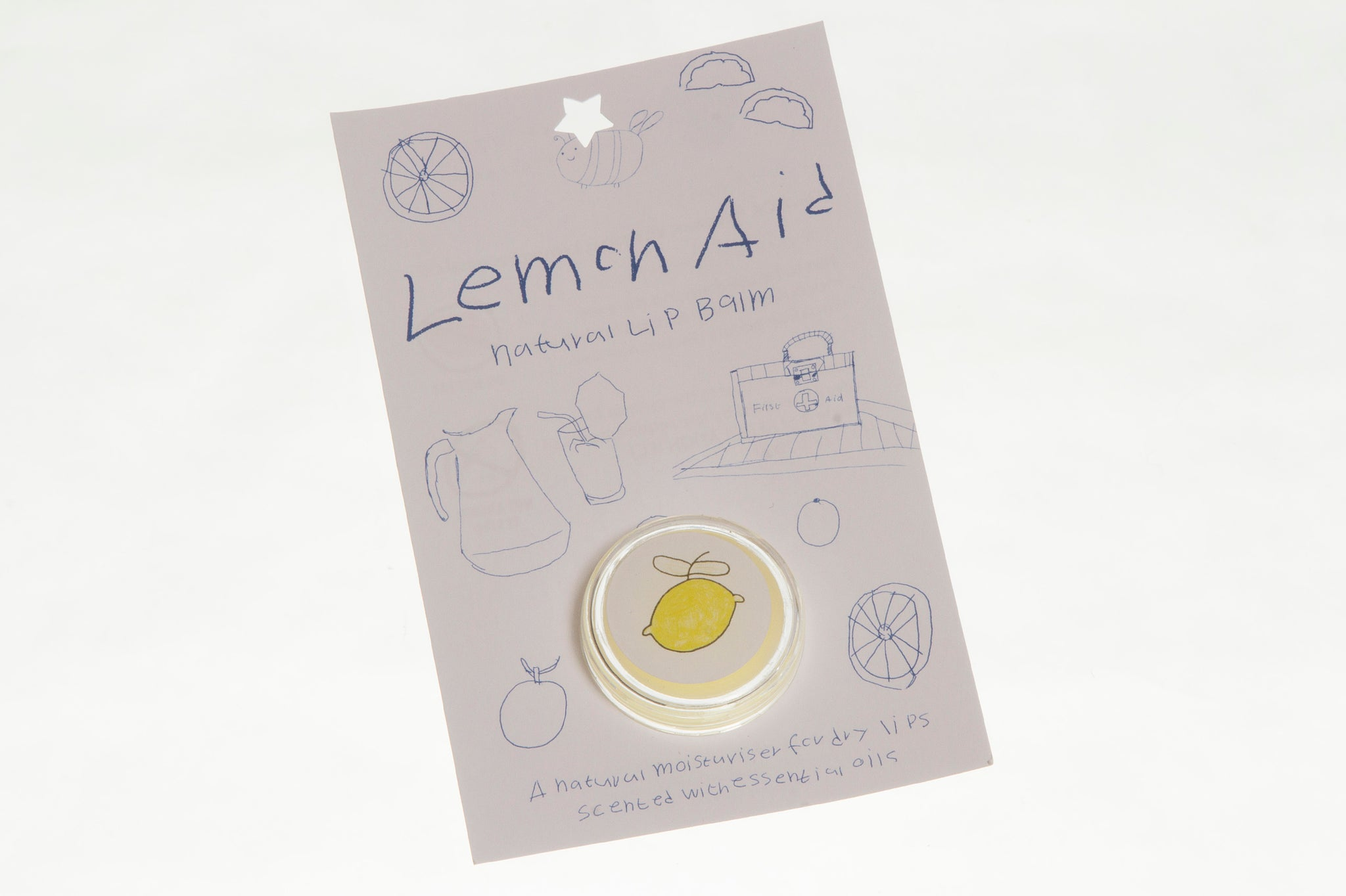 Lip Balm 'Lemon Aid'