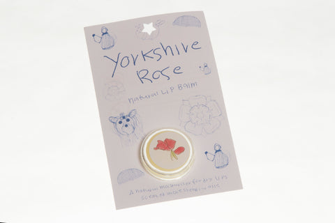 Lip Balm 'Yorkshire Rose'