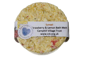 Bath Melt, Strawberry and Lemon